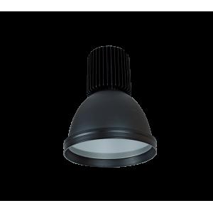 LED csarnokvilágító mini 30W fekete