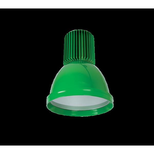LED csarnokvilágító mini 30W zöld