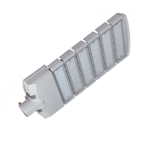 Utcai LED lámpa 200W SMD szürke