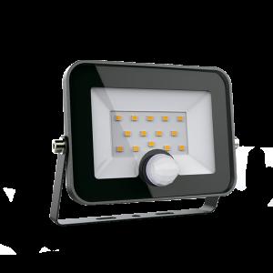 Elmark LED reflektor mozgásérzékelővel 30W 5500K 2400lm fekete