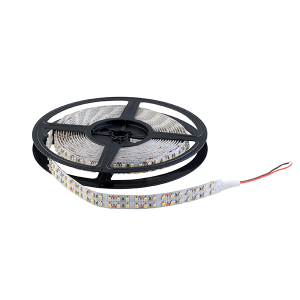 LED szalag LED1200 3528 20W/M 12V/DC IP20 2X120LED/m Hideg Fehér , 5 MÉTER (1 TEKERCS)