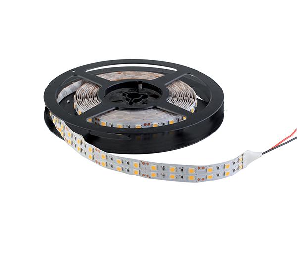 LED szalag LED600 5050 29W/M 12V/DC IP20 2X60LED/m Meleg Fehér , 5 MÉTER (1 TEKERCS)