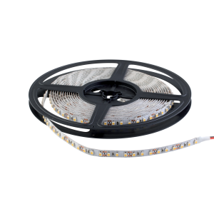 LED szalag SMD3528 24VDC 9,6W 120PCS/M IP20 sárga , 5 MÉTER (1 TEKERCS)