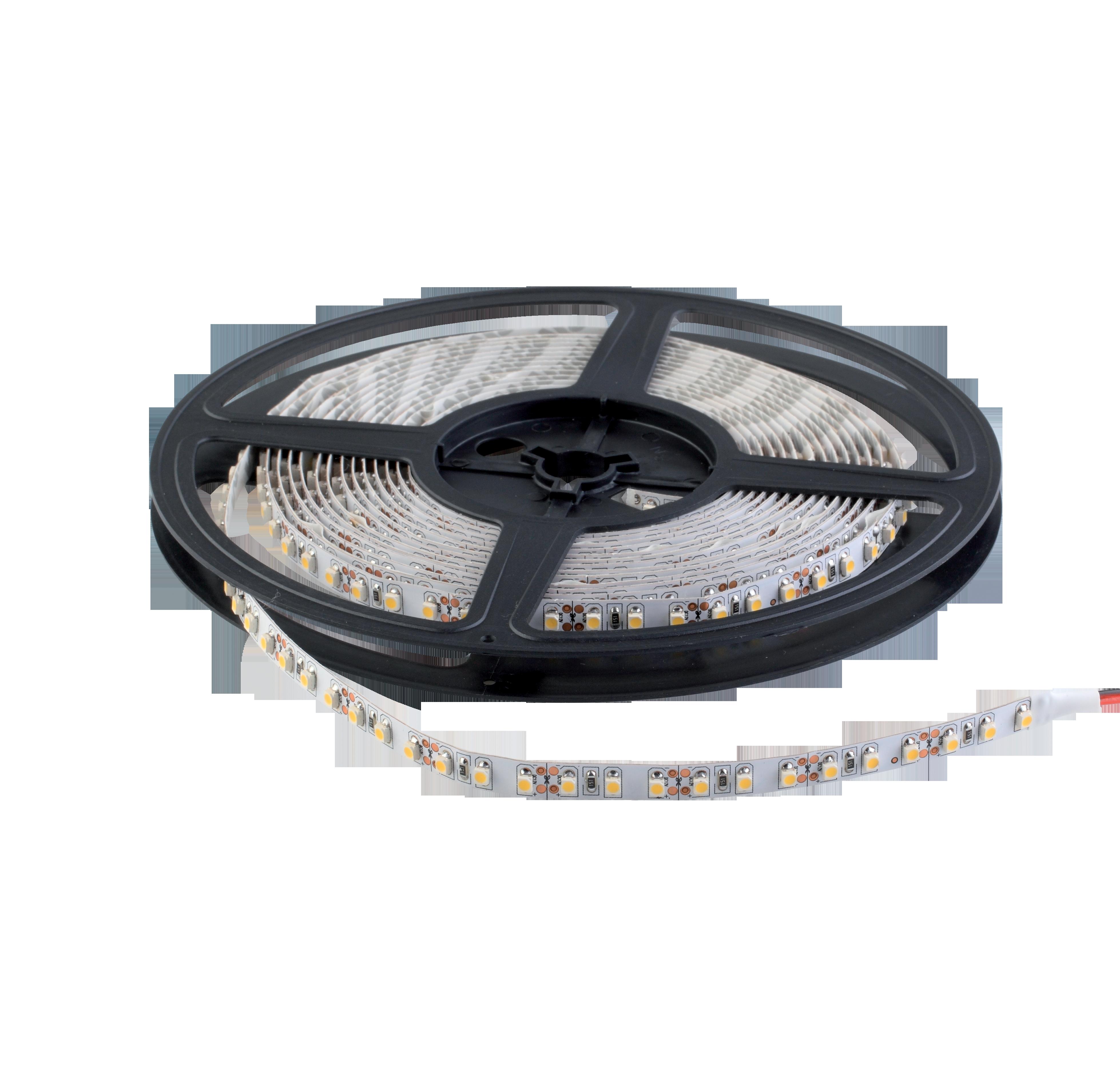 LED szalag SMD3528 24VDC 9,6W 120PCS/M IP20 kék , 5 MÉTER (1 TEKERCS)
