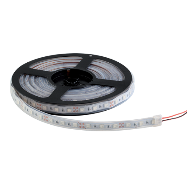 LED szalag 5050 24V DC 14,4W 60PCS/M IP67 2700-3000K , 5 MÉTER (1 TEKERCS)