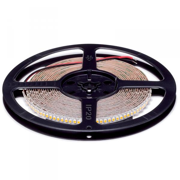 LED szalag 3528 24VDC 20W 192PCS/M IP20 hideg fehér , 5 MÉTER (1 TEKERCS)