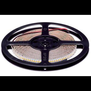 LED szalag 3528 24VDC 20W 192PCS/M IP20 meleg fehér , 5 MÉTER (1 TEKERCS)