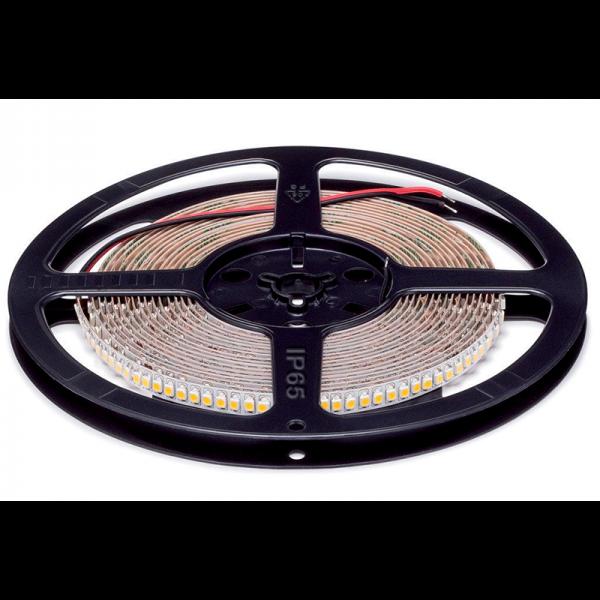 LED szalag 3528 24VDC 20W 192PCS/M IP65 meleg fehér , 5 MÉTER (1 TEKERCS)