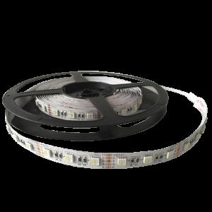 LED szalag 5050 14,4W/M 12V/DC IP20 60PCS/1M RGBW , 5 MÉTER (1 TEKERCS)