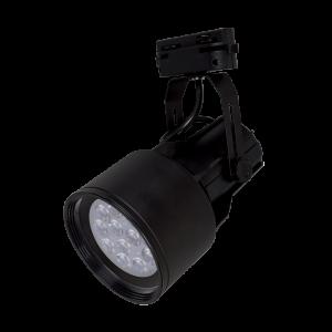 LED sínes lámpatest, TL2211 track light, 15 W,  fekete színű- Elmark