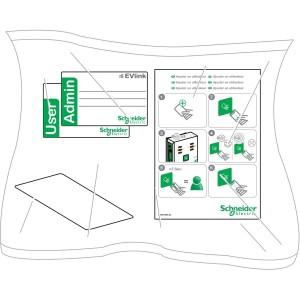 Evlink - RFID kártya 10 db/csomag