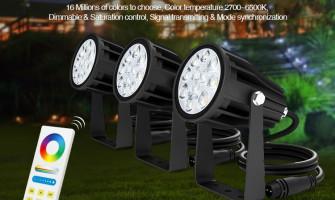 Színes LED kertvilágítás 15 perc alatt