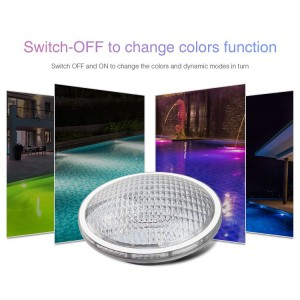 LED RGB+CCT PAR56 27W medence lámpa