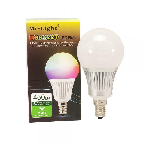 SMART LED égő RGB+CCT 5W E14 Mi-Light