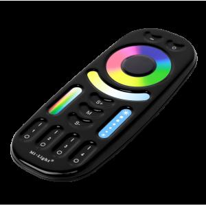 Mi-Light RGB-CCT 4 csatornás érintőgombos távirányító Fekete