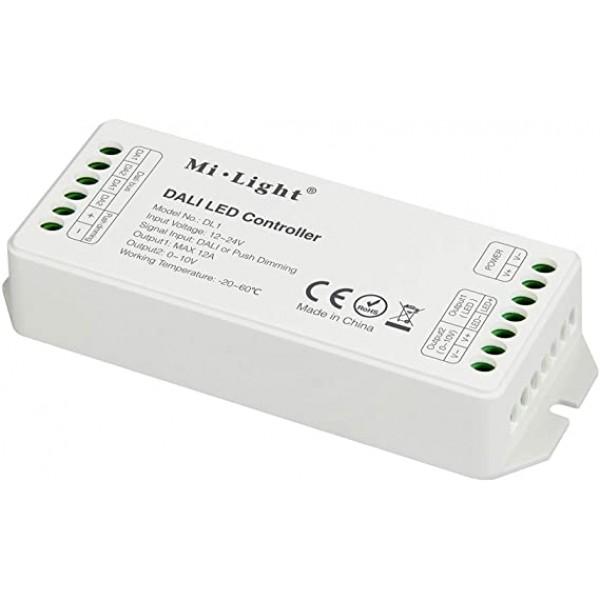 MIBOXER DALI LED szalag vezérlő és fényerőszabályozó egyszínű single color LED szalagokhoz