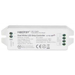 CCT (WW/CW) LED szalag színhőmérséklet vezérlő kétszínű szalagokhoz