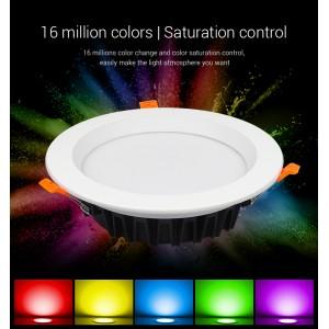 Miboxer RGB+CCT színes és változtatható fehér kerek LED panel 25W 2000lm
