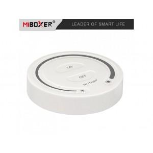 Miboxer fali kerek érintős fényerőszabályozó távvezérlő