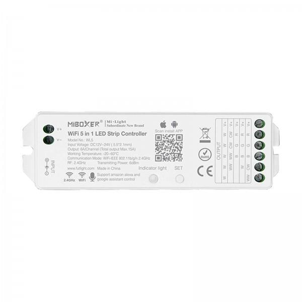 Miboxer WiFi LED szalag vezérlő 5 in 1