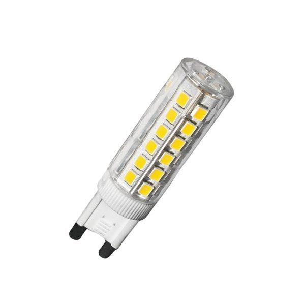 Kukorica LED égő, G9, 6W, 360°, 600Lm, 4500K, Dimmelhető