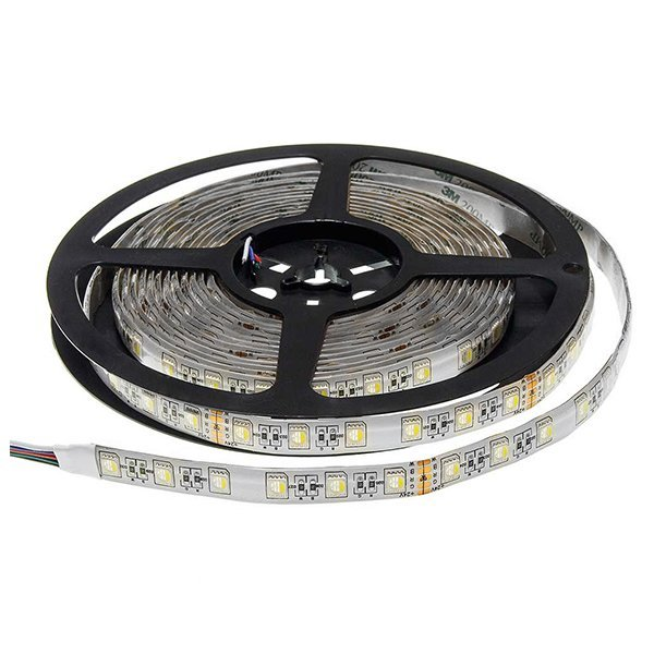RGBWW LED szalag, IP65, 60LED/m, 24V, 6W/m