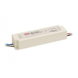LED tápegység Mean Well LPV-100-12 100W 12V IP67