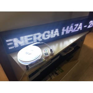 RGB LED Neon Flex 24V 12W/m IP65 10 méteres tekercs