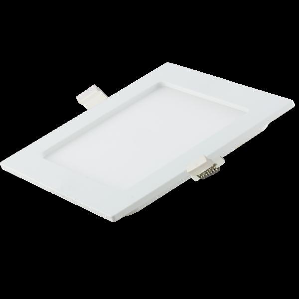 Optonica süllyesztett négyzet CCT LED panel állítható fehér fény 3000K-6000K 12W