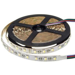 RGB+CCT színes és fehér LED szalag 5050/60, 24V, 9,5W