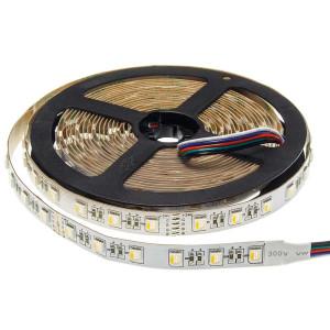 RGBW LED szalag, IP20, 60LED/m, 24V, 16W/m