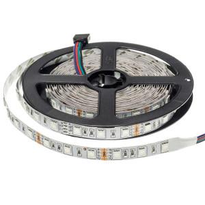 RGB LED szalag 5050-60 14,4W 1000lm 24V