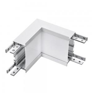L-alakú LED csatlakozó negatív sarok 8W  fehér 4000K EHOP5377 lineáris süllyesztett lámpatesthez