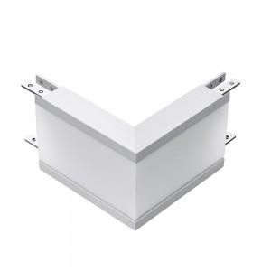 L-alakú LED csatlakozó pozitív sarok 8W  fehér 4000K EHOP5377 lineáris süllyesztett lámpatesthez