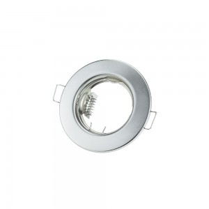 Egyszerű spotkeret, GU10 és MR16 lámpákhoz, inox