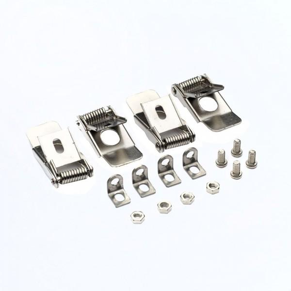 Rugós rögzítő fül készlet , szerelvény , LED panelekhez