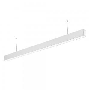 LED lineáris függesztett lámpatest hideg fehér fényű 6000K 40W fehér