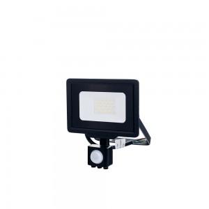 Optonica LED Reflektor mozgásérzékelős hideg fehér 20W 6000K 1600lm fekete