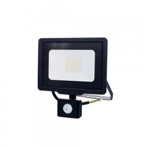 Optonica LED Reflektor mozgásérzékelős hideg fehér 30W 6000K 2400lm fekete