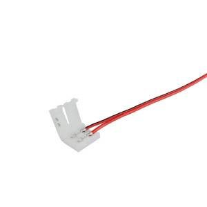 LED szalag betáp vezeték beltéri 5050 chip típushoz 100mm