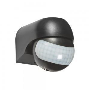 LED PIR Mozgásérzékelő 180° 12 m, IP54 Optonica, fekete
