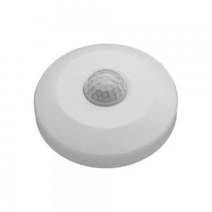 LED PIR Mozgásérzékelő 360° 6 m, fali,  IP20,Optonica, fehér