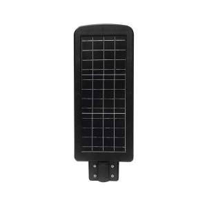 Napelemes utcai LED lámpa 8W mozgásérzékelővel