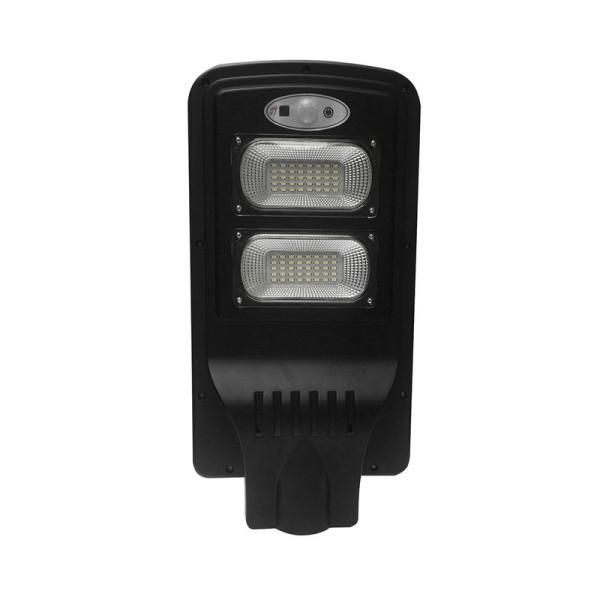 Napelemes utcai LED lámpa 12W mozgásérzékelővel