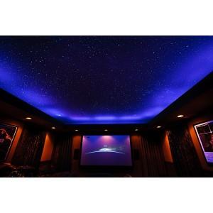 Üvegoptikás RGBW LED csillagos égbolt 4x3W 210x0,75+10x1,5mm2 2,5méter optikai szállal