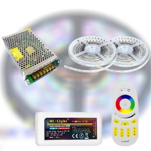 Mi-Light RF RGB 5050-60 LED szalag szett 10m