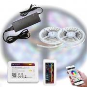 Mi-Light WIFI SMART RGB 5050-30 LED szalag szett 10m