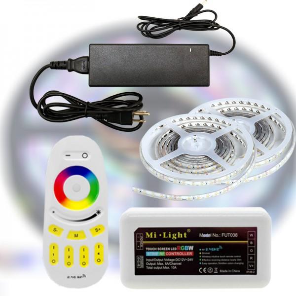 Mi-Light RF RGBDW 5050-60 LED szalag szett 10m