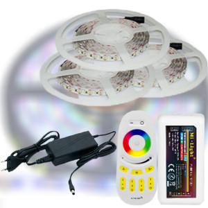 Mi-Light RF RGB 5050-30 LED szalag szett 15m