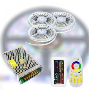 Mi-Light RF RGB 5050-60 LED szalag szett 15m